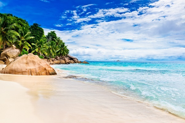 Tropical beach - The Seychelles