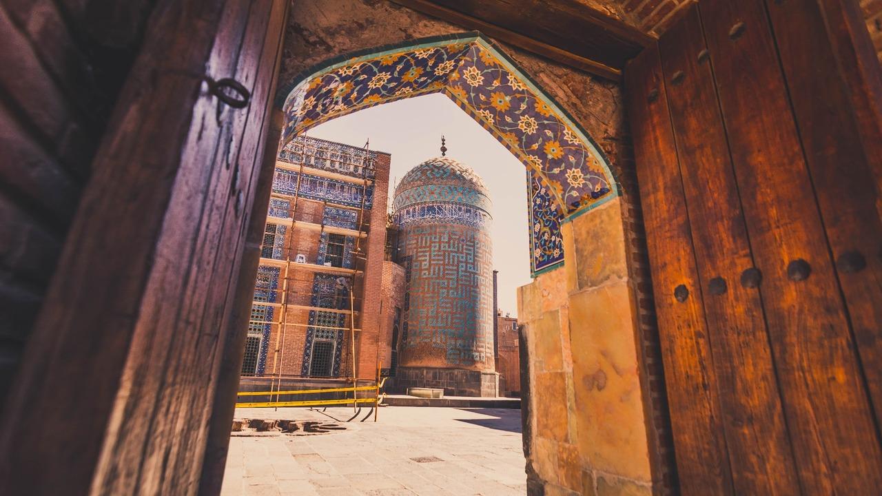 Sheikh Safi tomb in Ardabil