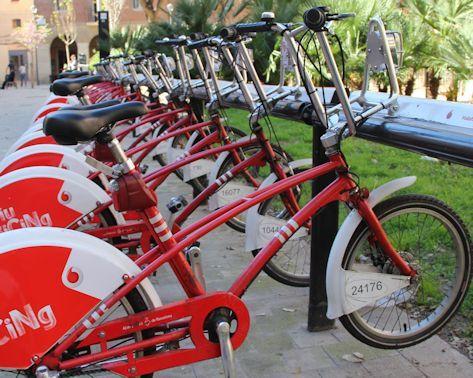 Mietstation Fahrräder