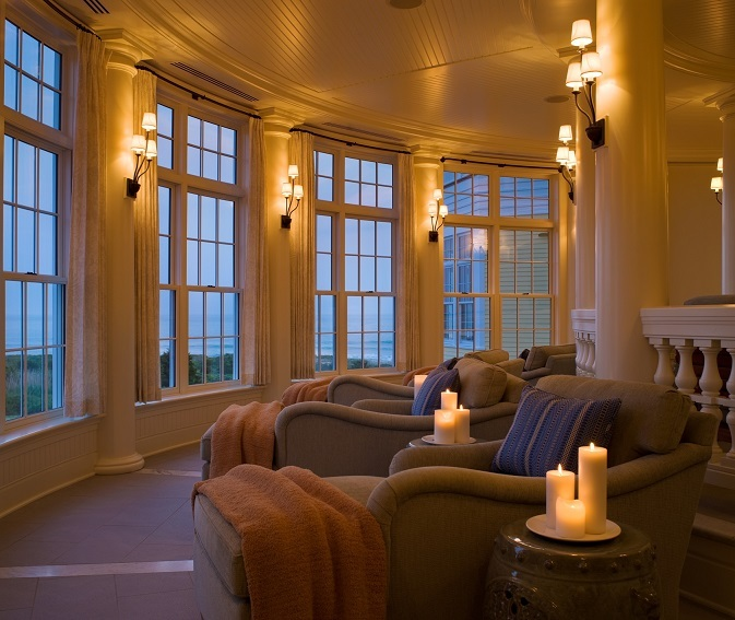 Ocean House Wintergarten